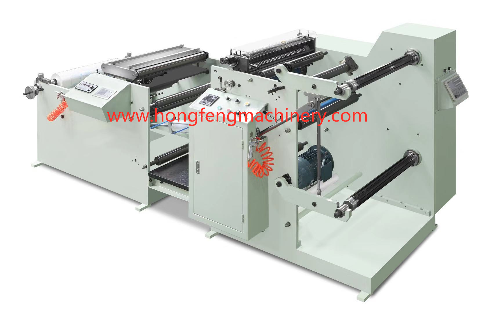 HF-S650 Paper Roll Slitting & Rewinding Machine