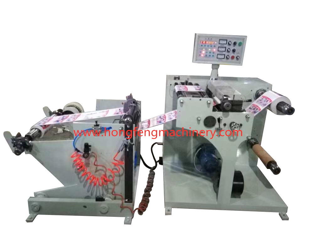 HF-S450 Paper Roll Slitting & Rewinding Machine