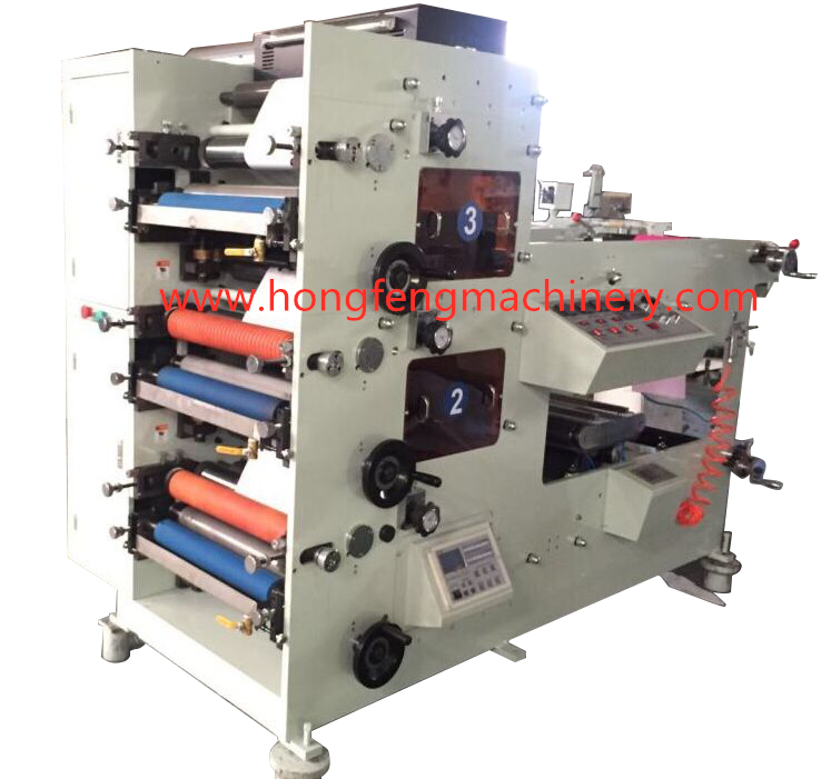 HF-3P450 Flexible Paper Printing Machine